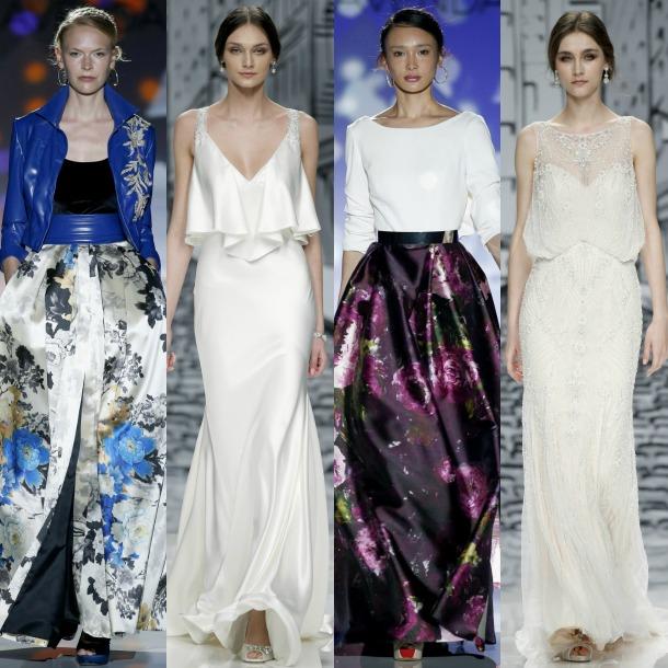 dcdc65dceb Barcelona Bridal Fashion Week 2017  Justin Alexander y Patricia ...