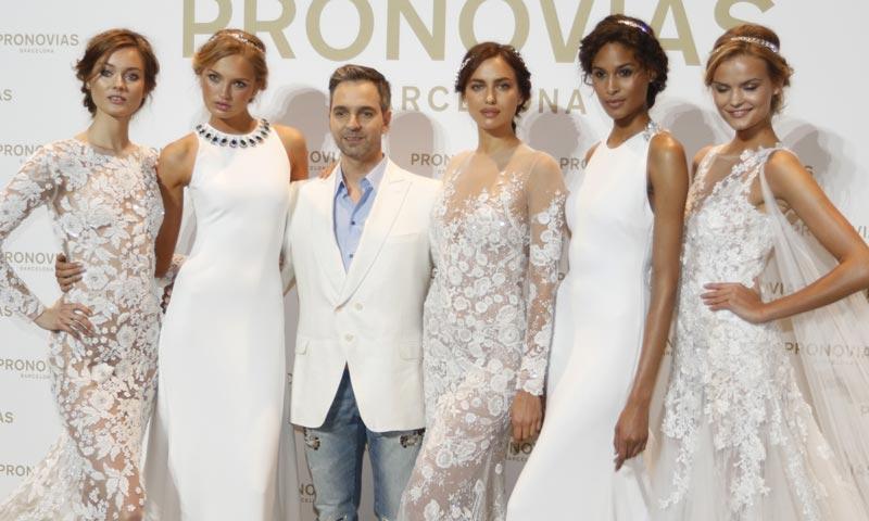 Irina Shayk será, de nuevo, la gran estrella del desfile de Pronovias