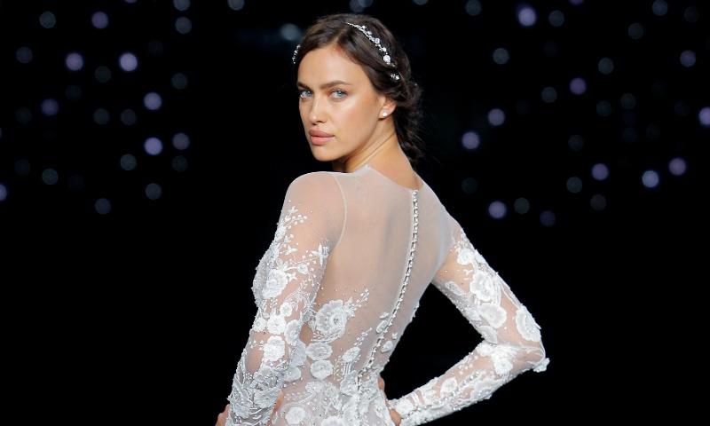 Irina Shayk, una novia 'ice white' para Pronovias