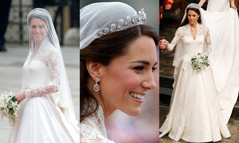 Todos los trajes de novia que aún se inspiran en la Duquesa de Cambridge