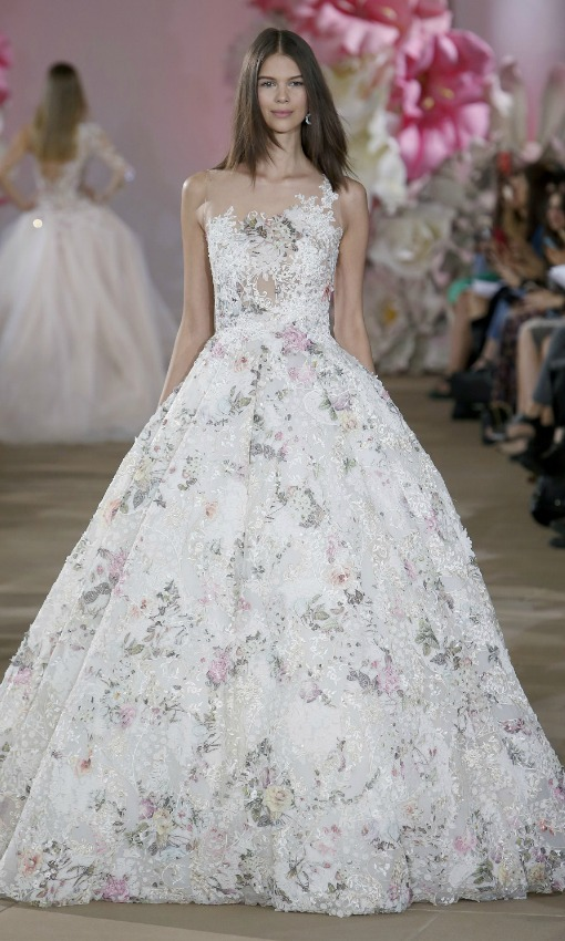 Vestido de novia color lavanda