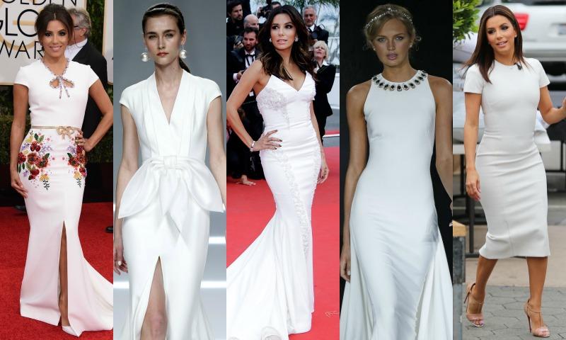 15 vestidos de novia para Eva Longoria
