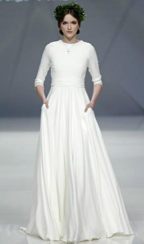 Tendencias 2017: Plisados vs. drapeados, o la nueva novia helénica