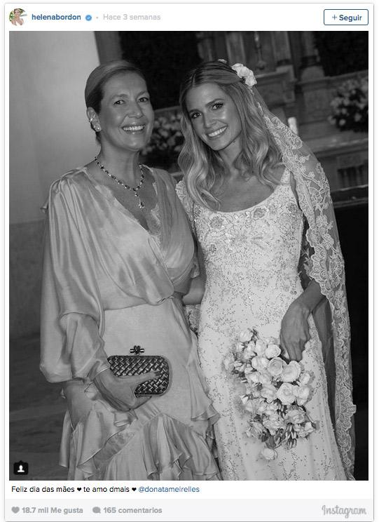 Vestidos de madres de novias famosas