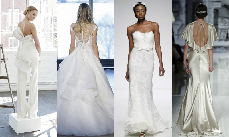 Tendencias 2017: Vestidos de novia de volantes vs. lazos