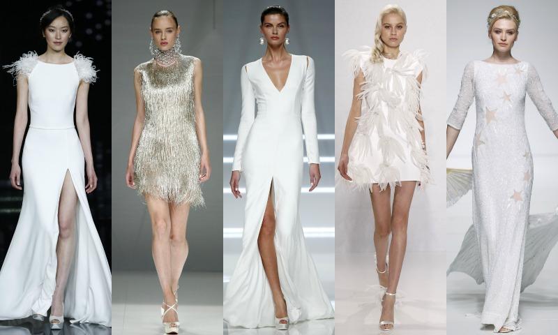 Siete 'microtendencias' de vestidos de novia que no puedes pasar por alto en la próxima temporada