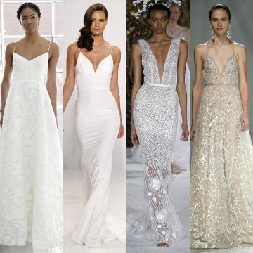 Tipos de tirantes para vestidos de novia