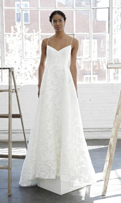vestido de novia tirantes