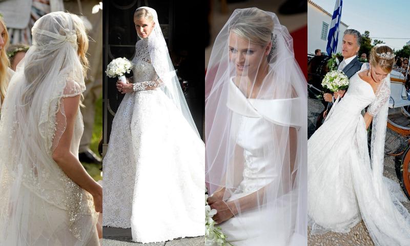 d57f0a8ba3  Celebrity brides   Los velos de novia que marcaron tendencia en la moda  nupcial - Foto