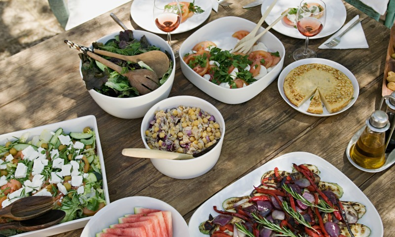 Dieta en vacaciones y antes de la boda... ¿es posible?