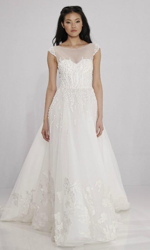 Vestidos de novia sencillos discretos