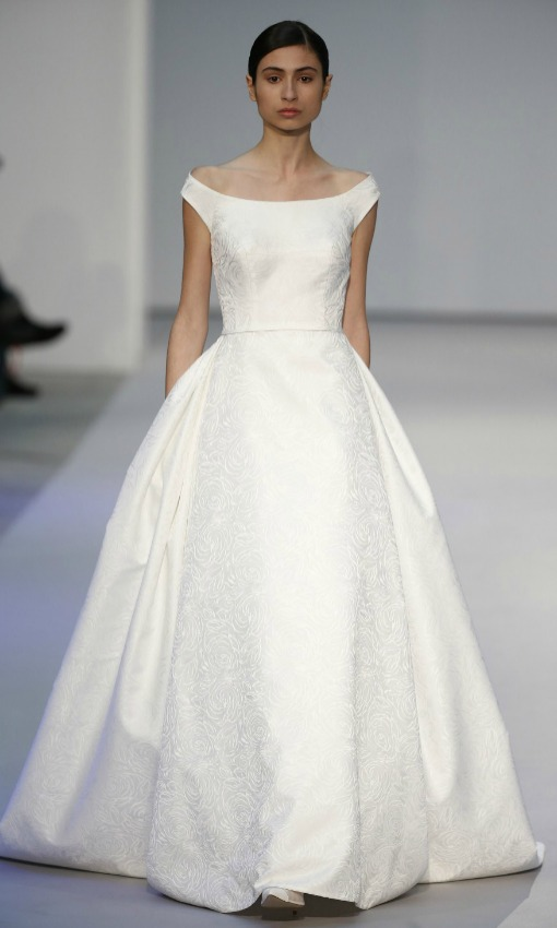 tendencias vestidos de novia sper sencillos