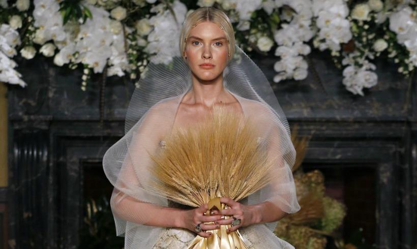 ¿Qué dos firmas 'made in Spain' se han atrevido con los vestidos de novia de invierno en Nueva York?