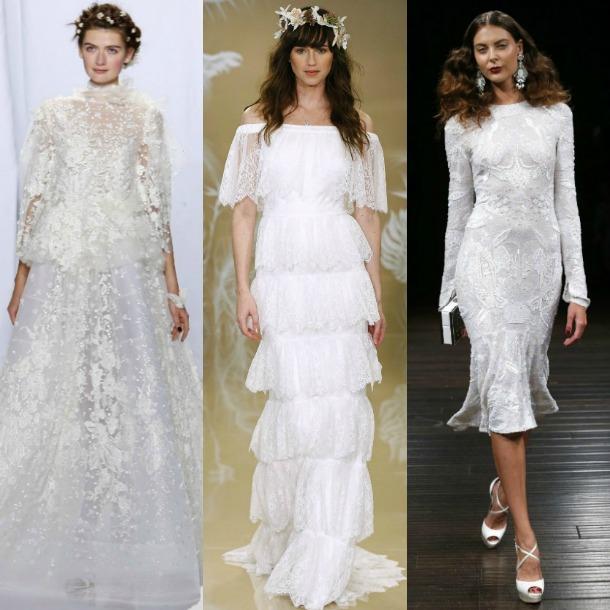 los vestidos de novia más bonitos de la new york bridal week - foto