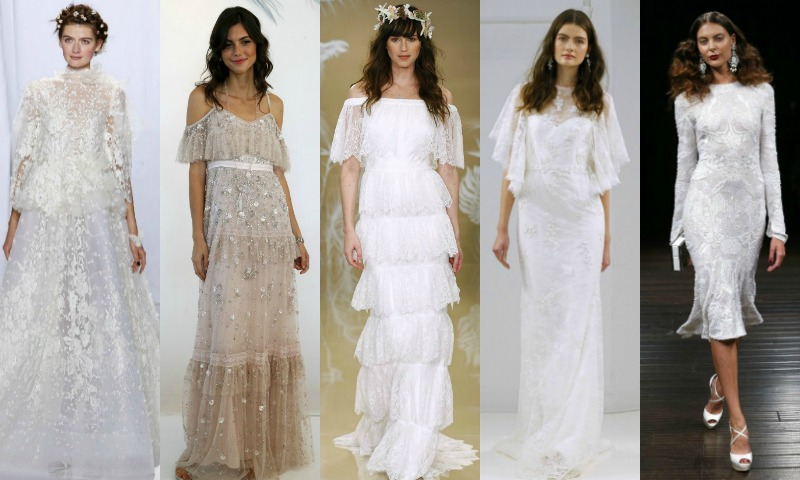 Los vestidos de novia más bonitos de la New York Bridal Week