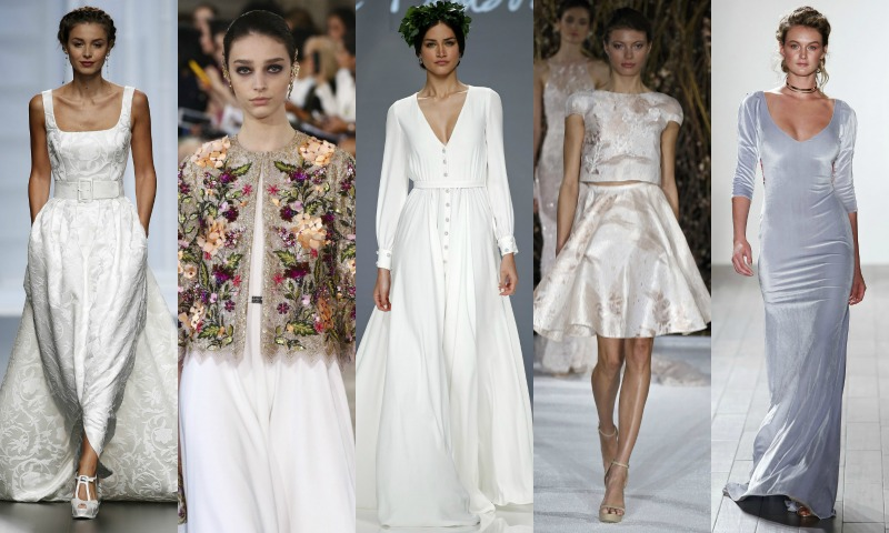 Los tejidos del vestido de novia de invierno, ¿cuáles conoces? - Foto