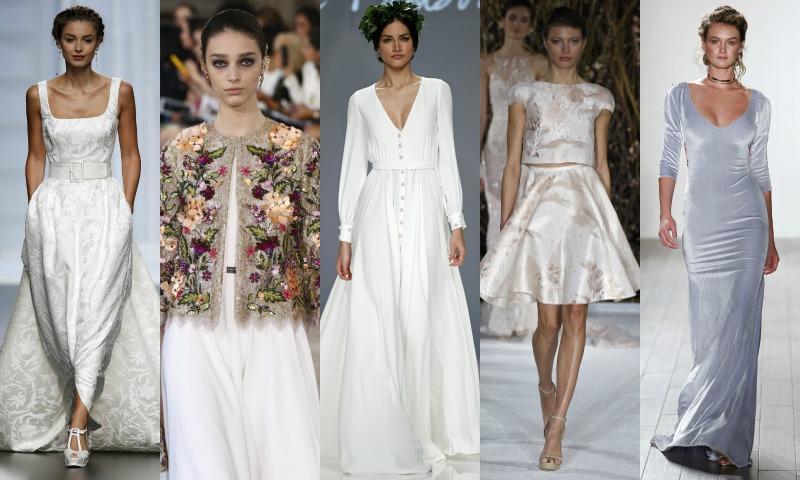 Los tejidos del vestido de novia de invierno, ¿cuáles conoces?