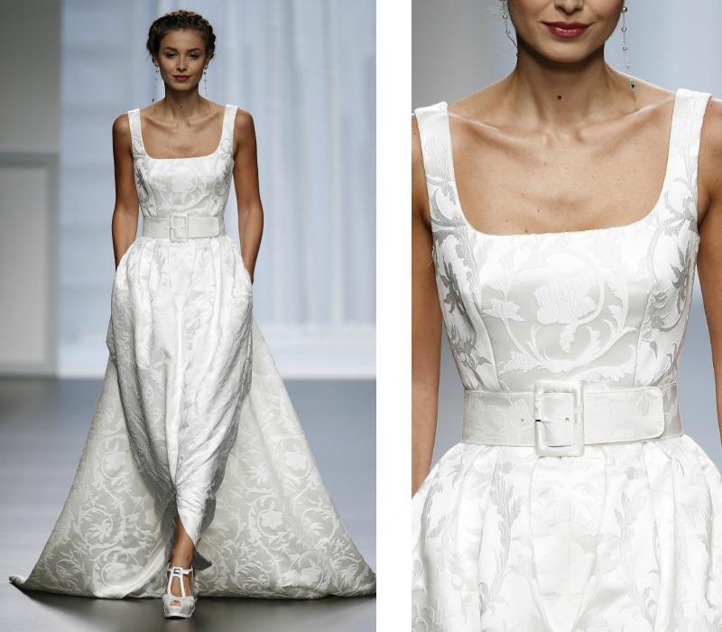Los tejidos del vestido de novia de invierno, ¿cuáles conoces? - Foto 1