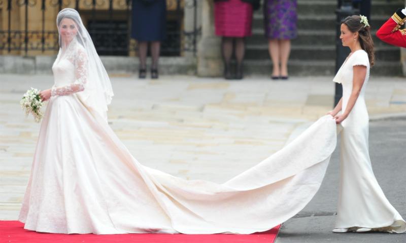¿Puede una invitada robarle protagonismo a la novia?