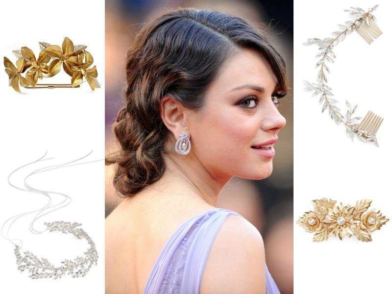 19 adornos para el pelo que llevan las novias de invierno - Foto 4ac67acf12a4