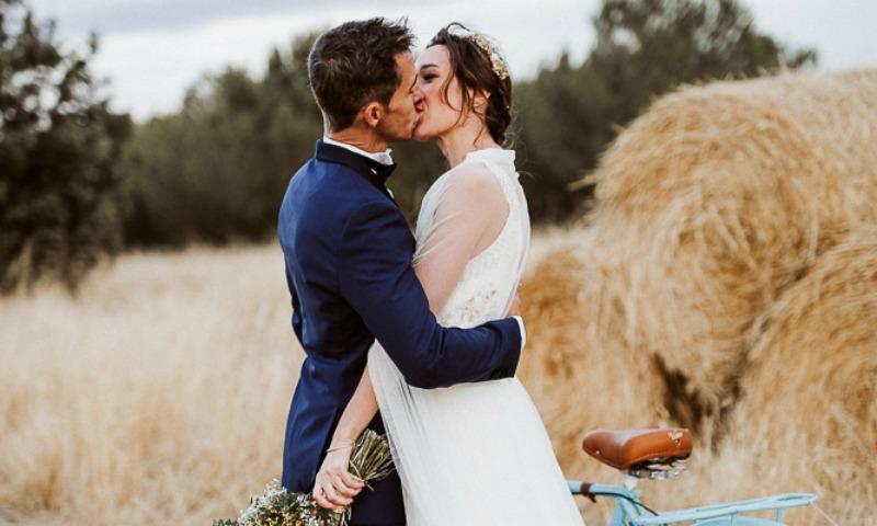 Inspiración 'country' en la boda de Noelia y Nacho