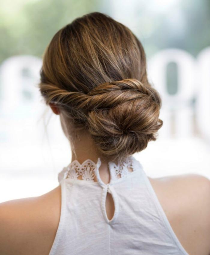 Nueve tendencias en peinados de novia que vamos a llevar - Peinados de novia recogido ...