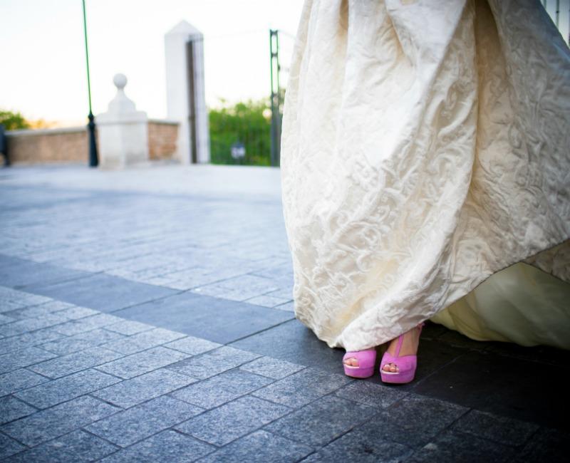 53c41bce Los zapatos de novia 'a la carta' que marcan tendencia - Foto