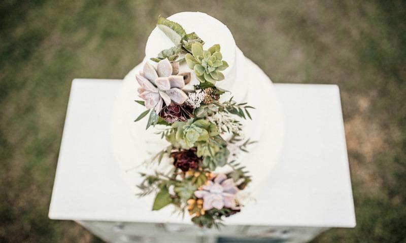 18 pasteles de boda súper románticos para las nuevas novias