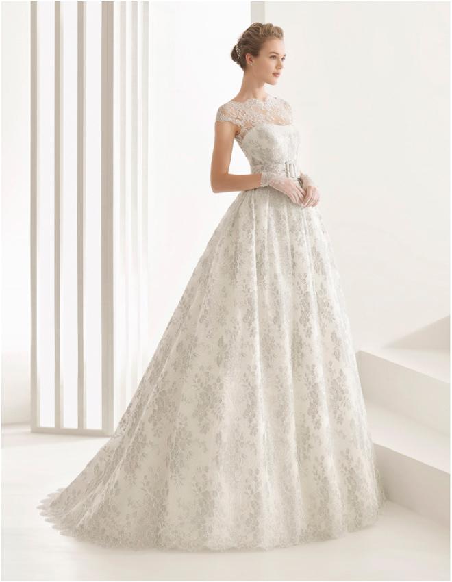 Rosa Clará vestido de novia modelo Nassau 11135