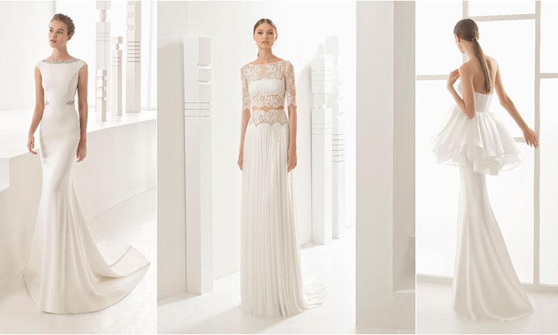 Un mundo de fantasía con los vestidos de novia de encaje y pedrería ...