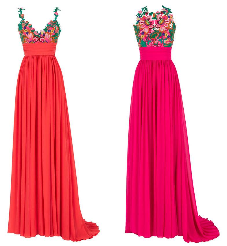 Ultima tendencia en vestidos de fiesta