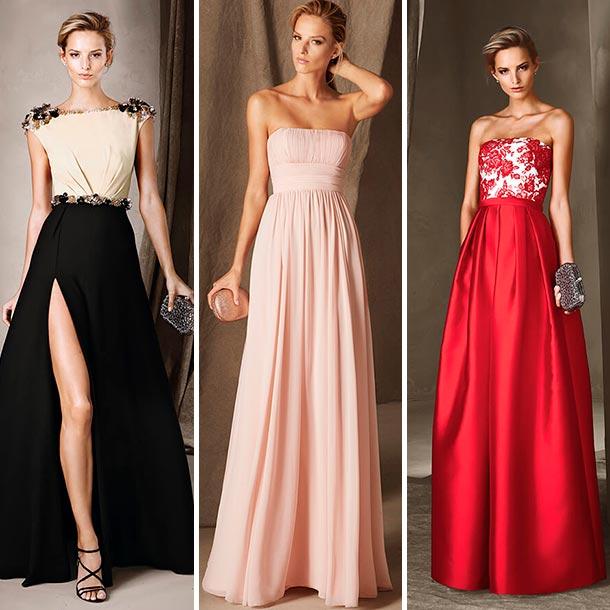 Colores para vestidos de noche para morenas