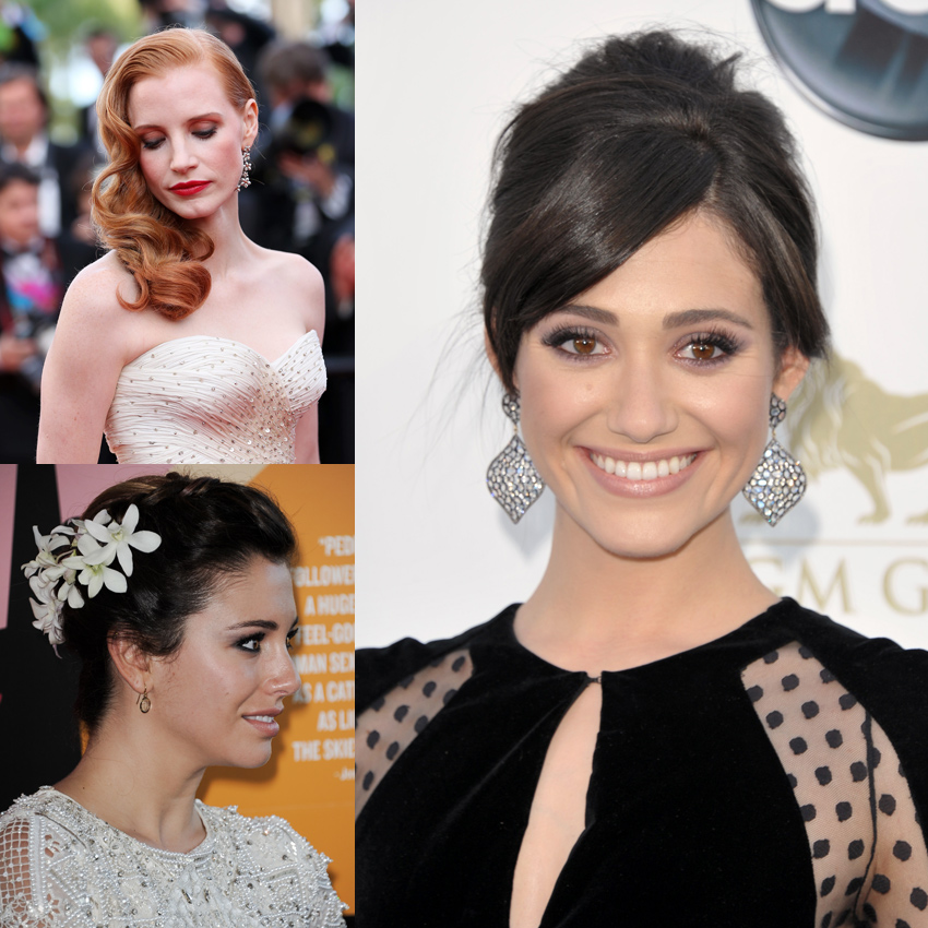 peinados para novias inspirados en famosas