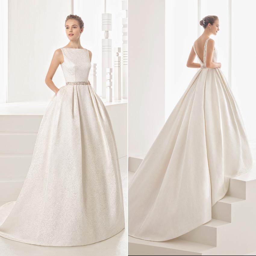 aed8e9bc521 Vestidos de novia 2017: Descubre los modelos de Rosa Clará - Foto