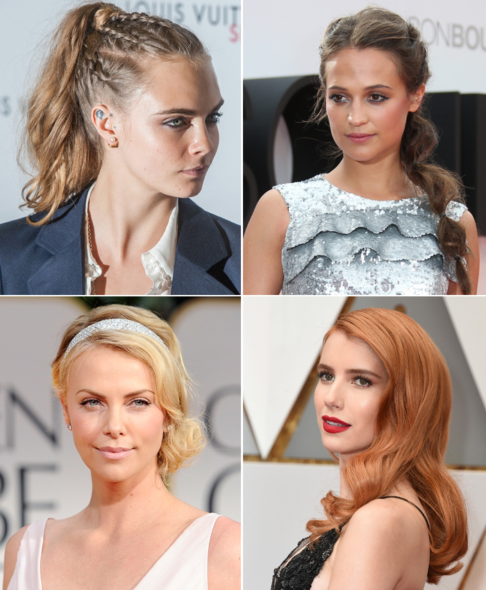 Bodas 10 Peinados Para Ser La Invitada Perfecta Foto