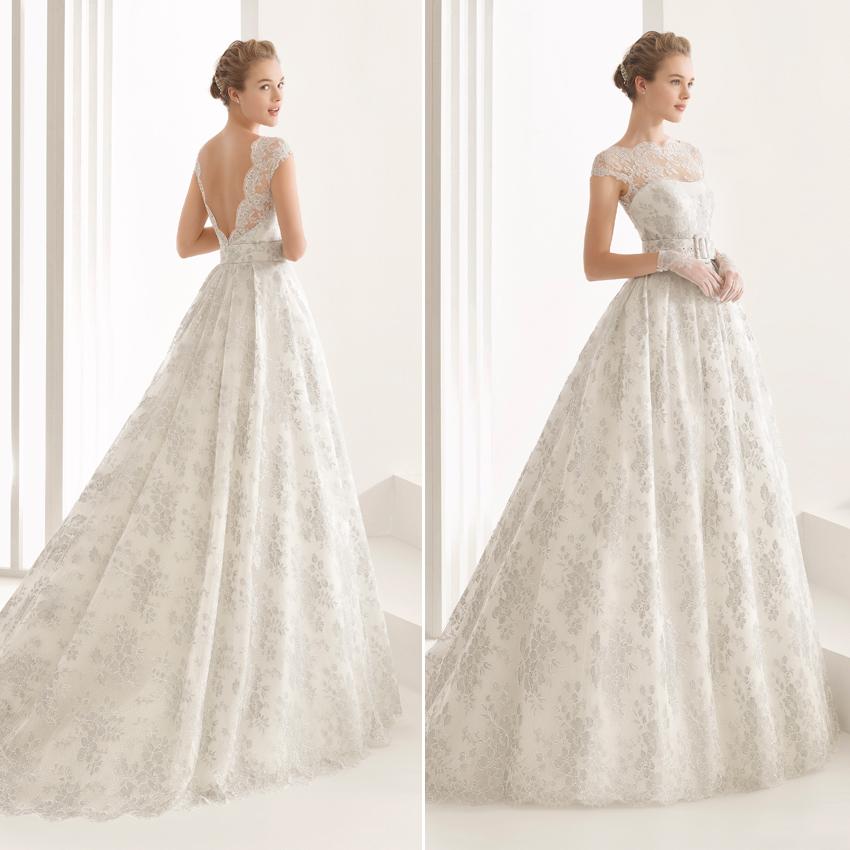 8c5108dc39 Rosa Clará 2017  Vestidos de novia de corte princesa - Foto