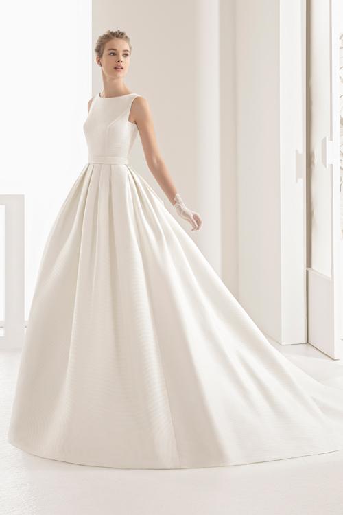 Vestido de novia corte cadera