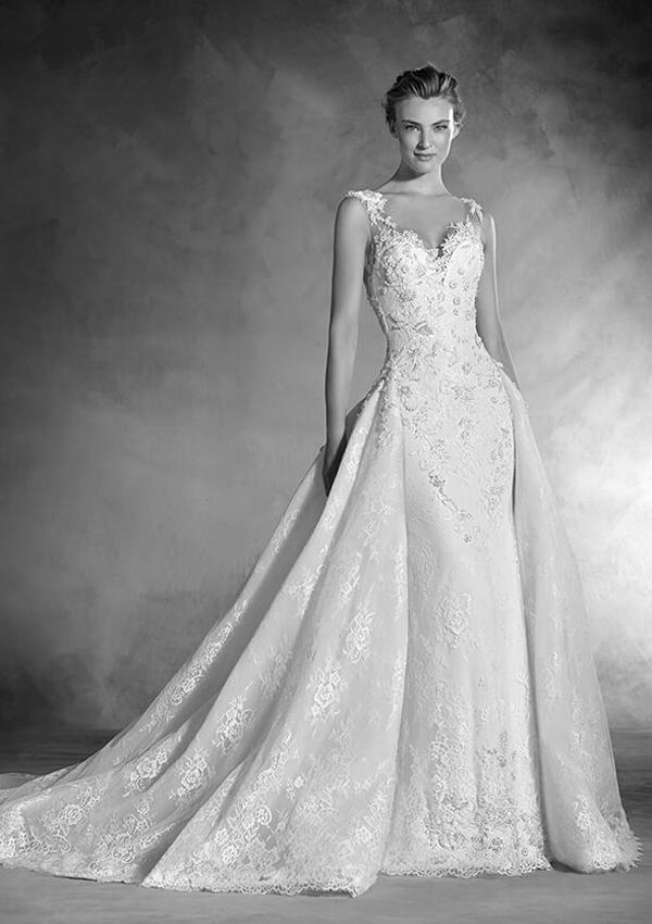 ¡Sácate el máximo partido! Escoge tu vestido de novia según tu figura