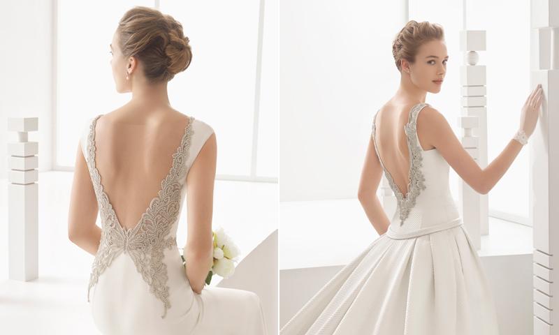 Espalda joya y escotes pronunciados, así son los vestidos de novia más sexys de Rosa Clará