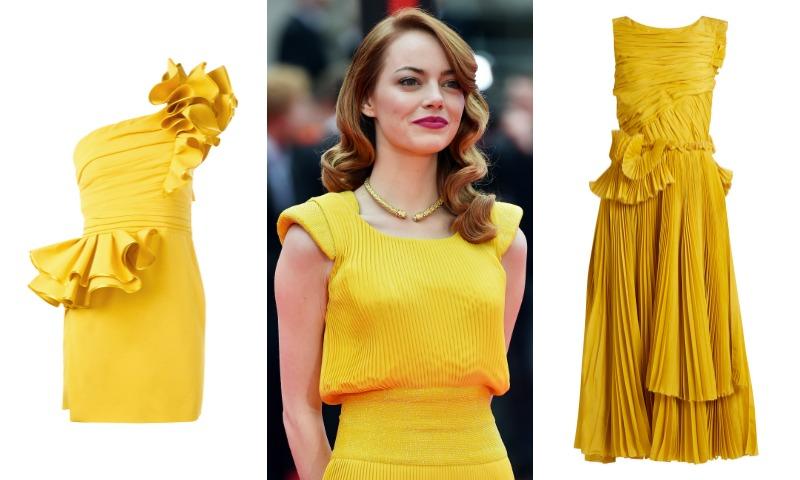 Sí, quiero... casarme con un vestido de novia amarillo