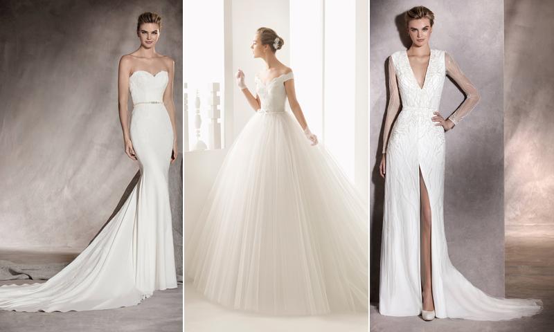 Así son los escotes de los vestidos de novia más chic