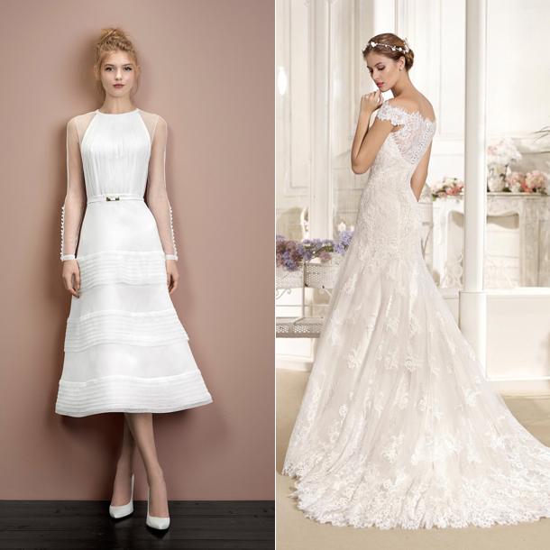 corto o largo? qué vestido de novia va más con tu estilo - foto
