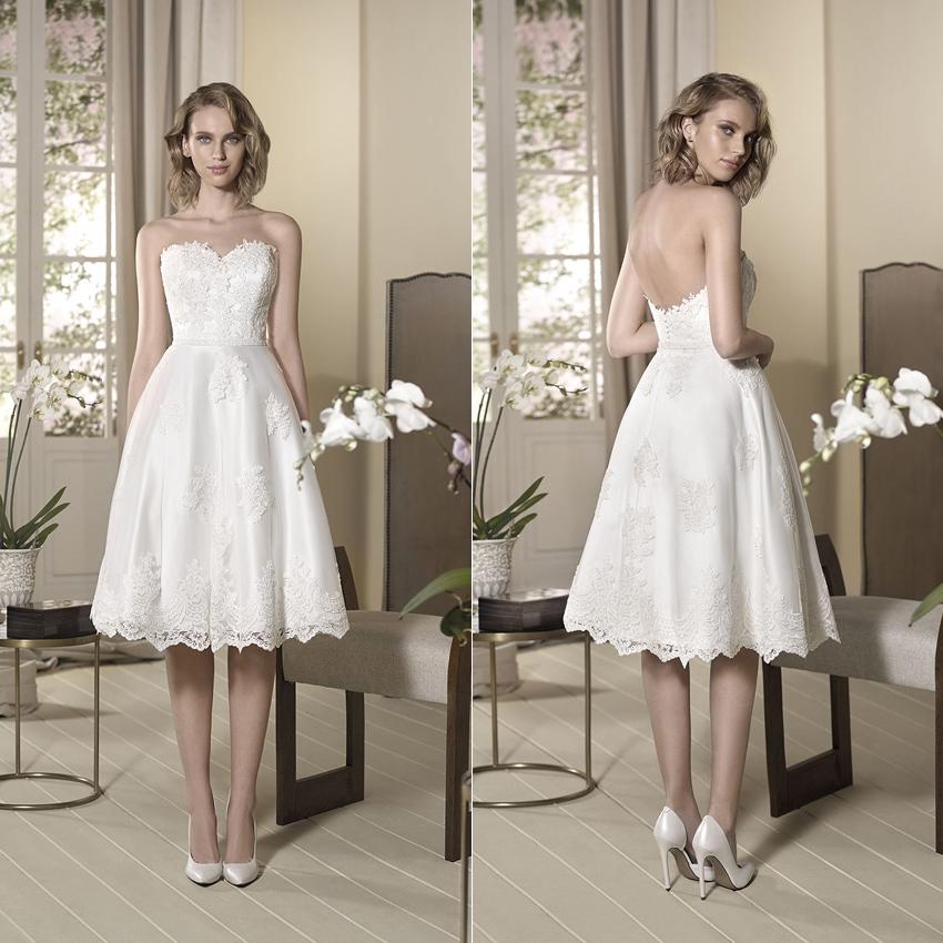 Corto vs. largo: Cómo elegir el vestido de novia perfecto ...