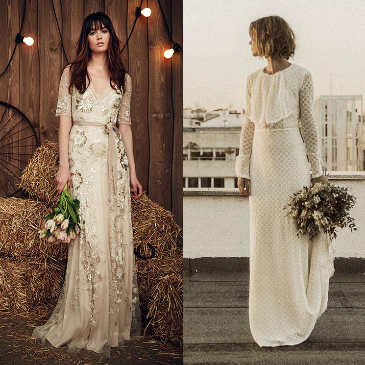 10 vestidos de novia para lucir más allá del día de tu boda - foto