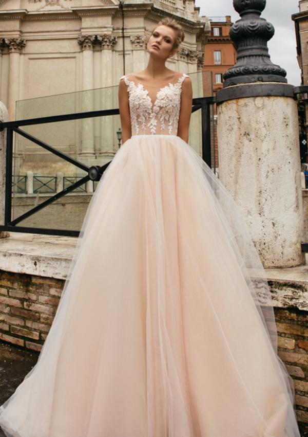 Vestidos de novia de corte princesa para una boda de ensueño - Foto 1