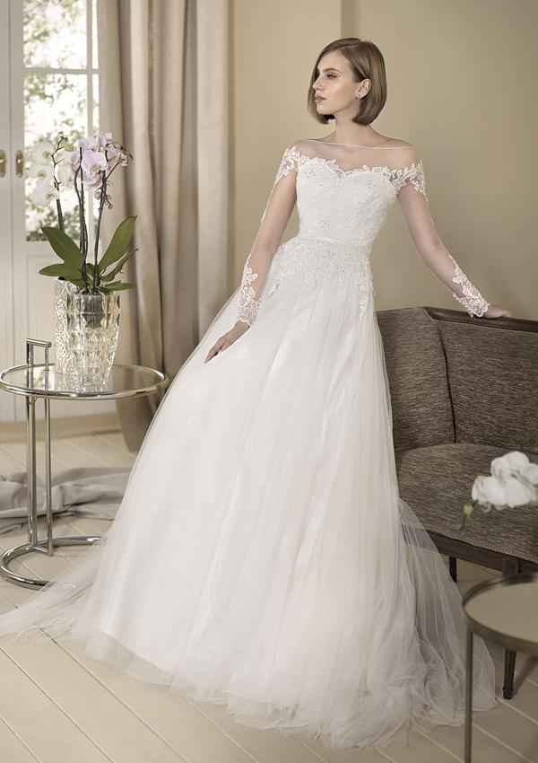El vestido de novia de la princesa