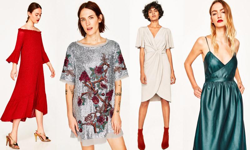 Invitadas 'low cost': 15 vestidos de Zara para sobrevivir a la época 'BBC'