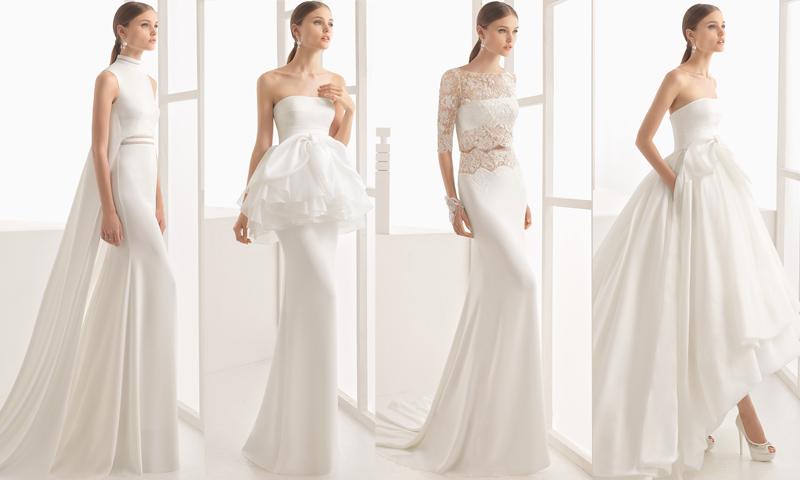 Diferentes 2017 Clará 10 De Rosa Foto Para Novias Las Vestidos Por g5wq4OaxSw