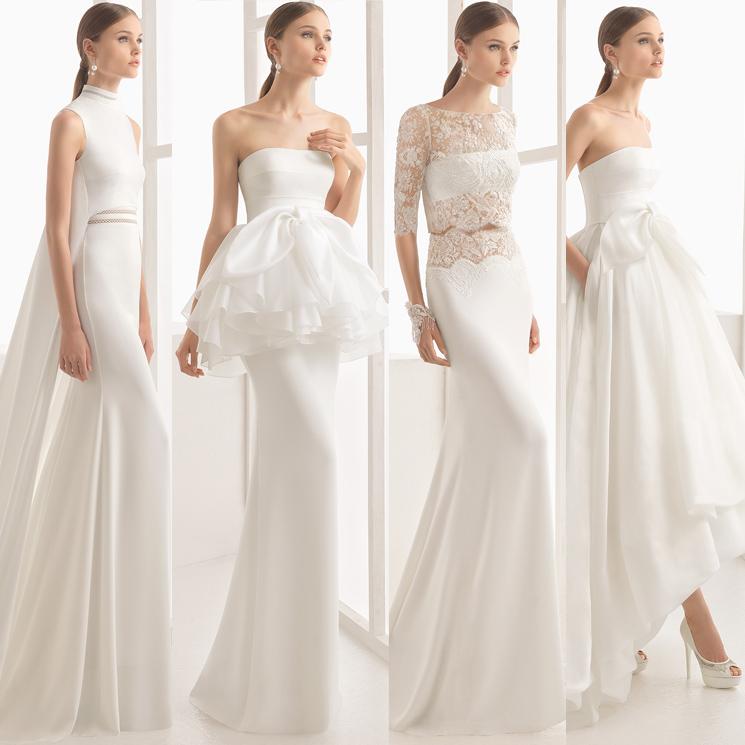 10 vestidos diferentes para las novias de 2017, por rosa clará - foto