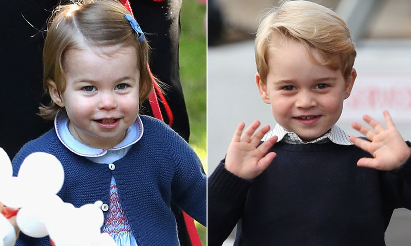 Los importantes papeles que George y Charlotte de Cambridge tendrán en la boda de Pippa Middleton